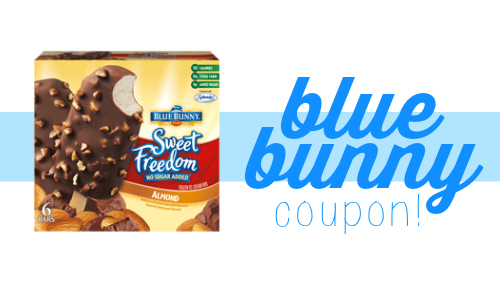 blue bunny coupon