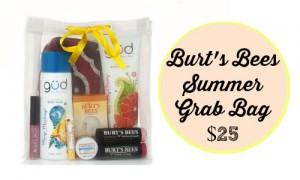 burt's bees grab bag