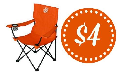 Phenomenal Home Depot 4 Folding Bag Chair Southern Savers Inzonedesignstudio Interior Chair Design Inzonedesignstudiocom