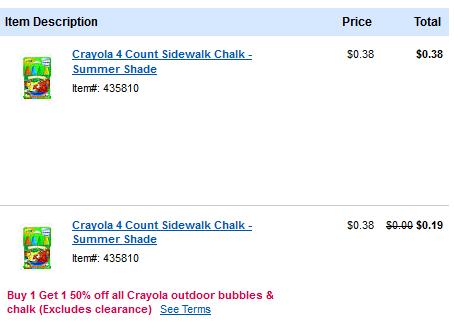 chalk deal
