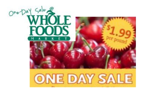 cherries sale