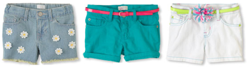 children place shorts