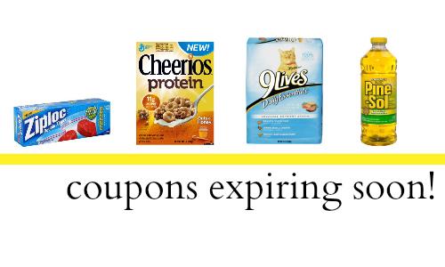 coupons expiring soon