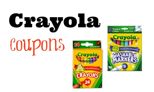 photo regarding Crayola Printable Coupons referred to as Contemporary $1/2 Crayola Markers Coupon! :: Southern Savers