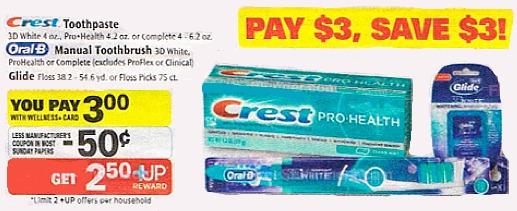 crest free toothpaste