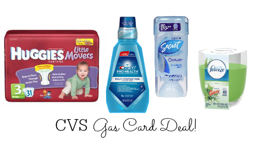 cvs gas card deal