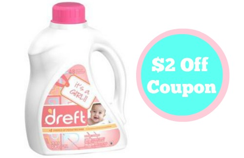 photo relating to Dreft Printable Coupon referred to as $2 Off Dreft Detergent Material Coupon :: Southern Savers