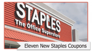 eleven new staples coupons