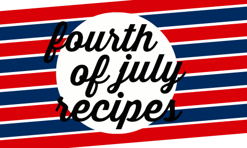 Here are some recipes that will be welcomed at your Fourth of July event!