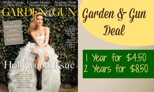 garden and gun deal