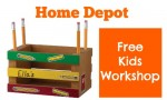 Home Depot Kids Workshop: Make A Pencil Holder, 8/2