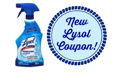 new lysol coupon