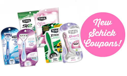 new schick coupons