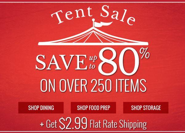 oneida tent sale