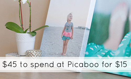 picaboo photo deal voucher 15 for 45