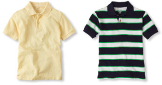 polo shirts children place