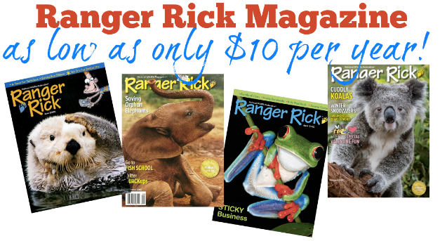 ranger rick subscription