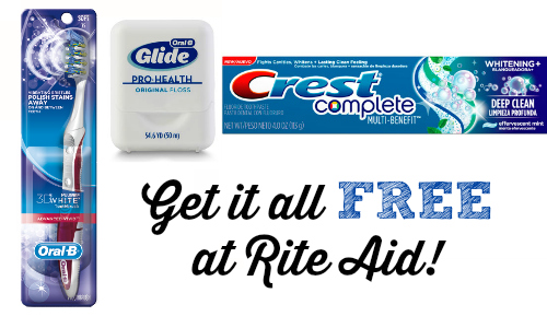 rite aid free oral care