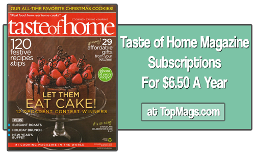 taste of home magazine topmags