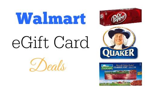 walmart gift card deals