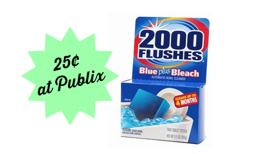 2000 flushes cleaner