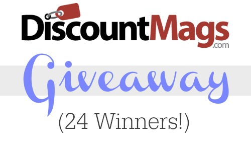 Discount Mags Giveaway