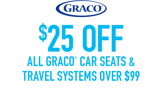 Graco 25 Rebate On Car Seats Purchased Between 8 1 And