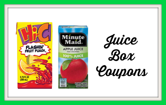Juice coupons