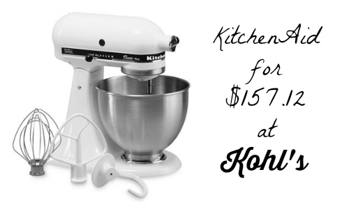 Southern Savers Kohls Kitchen Aid