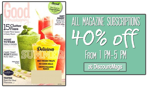 MAGAZINE 40 OFF SALE DISCOUNTMAGS