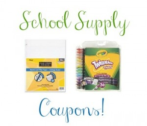 School Supply Coupons
