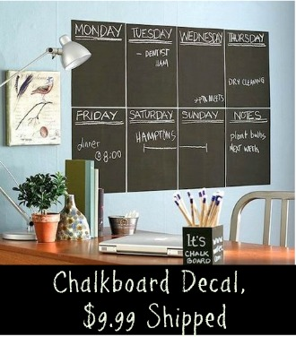 Tanga Deal: $9.99 Chalkboard Decal + FREE Shipping
