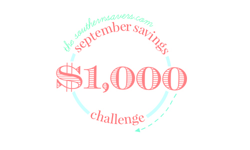 September $100 Savings Challenge: Last Week!