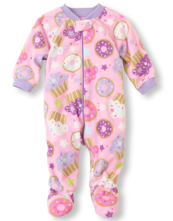 childrens place sweets blanket sleeper