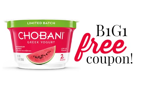 chobani coupon