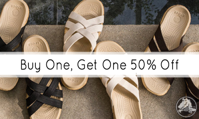 crocs.com labor day buy 1 get 1 50 off sale
