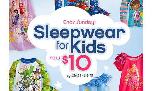 disney store pajama sale