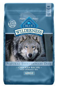 dog food blue