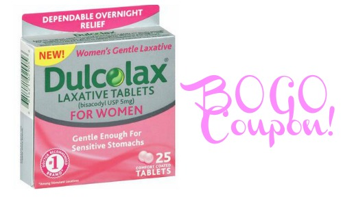 Bogo Dulcolax Laxatives Coupons Southern Savers