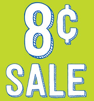 eight cents sale