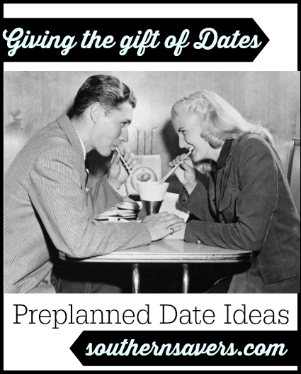 giving the gift of dates