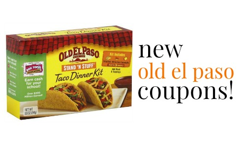 Coupons old el paso products