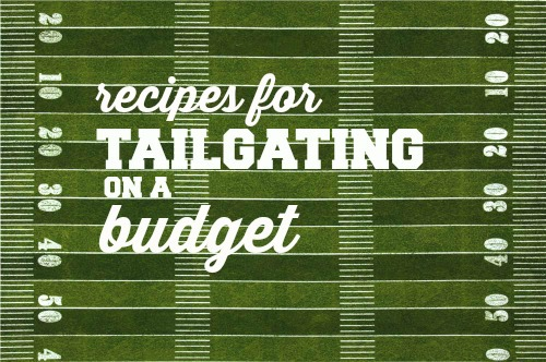 Make your football party easier on yourself by making these recipes for tailgating that use frugal and basic ingredients!