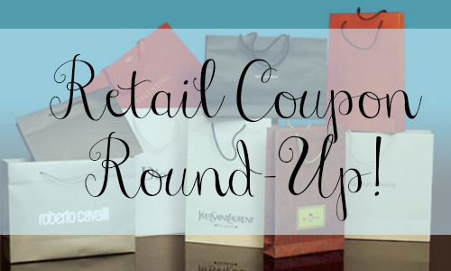 retail coupon roundup