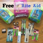 My Rite Aid Trip This Week: Diapers & Cosmetics for Free After Rewards!