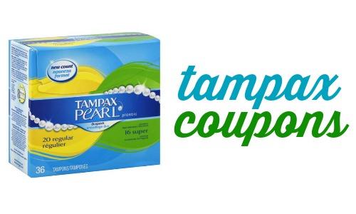 tampax coupons