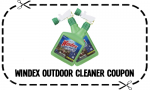 Windex Coupon: $2 Off Outdoor Cleaner