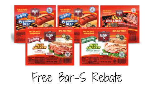 Bar-S Rebate
