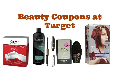 Beauty coupons at target