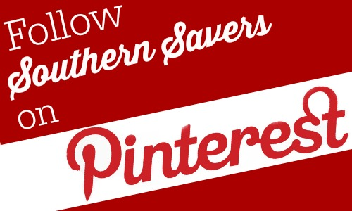 Follow Southern Savers on Pinterest